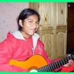 Es la guitarra de Cristian