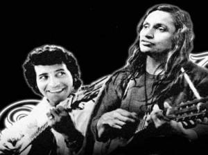 Víctor Jara y Violeta Parra.