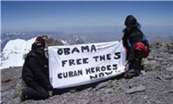 Obama: free the 5 cuban heroes now.