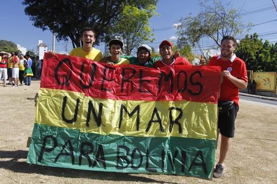 Un mar para Bolivia...