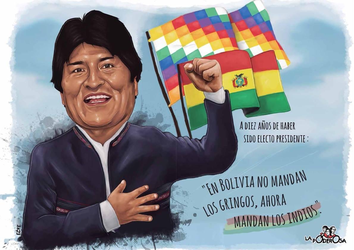 En Bolivia, mandan los indios.
