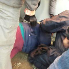La Policía fueguina golpea a docentes
