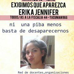 ¿Dónde mierda está Erika Jennifer?