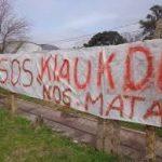 Ataque a activista contra la contaminación de la empresa Klaukol