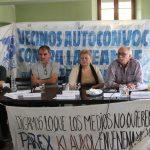 """""""Lucho contra el veneno de Klaukol, por las 300 familias de mi barrio"""""""