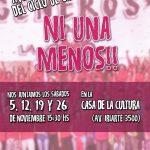 Ciclo de charlas Ni Una Menos en la 21-24