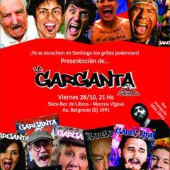 ¡La garganta grita en Santiago!
