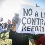 """Gritan los docentes: """"Las vergüenzas de la 'democracia' en la UNC"""""""