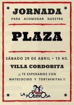 Jornada de trabajo voluntario y colectivo en Villa Cordobita