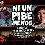 """El documental """"Ni un pibe menos"""" en Tucumán"""