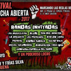 "Festival ""A cancha abierta"" 2017"