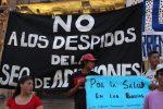 Despedidos de la Secretaría de Adicciones exigen su reincorporación