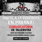 Subite a la moto en Paraná