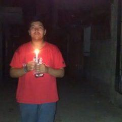 31 horas sin luz