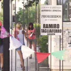 Tagliaferro quiso prohibir los corsos autogestivos en Morón