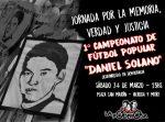 En Fiske, gambeteamos el olvido: ¡1° campeonato de fútbol popular «Daniel Solano»!