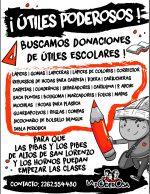 En La Plata: útiles para la revolución