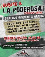 ¡Subite a La Poderosa, en Córdoba capital!