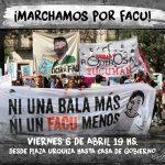¡Marchamos por Facundo Ferreira!