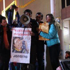 ¡Queremos la verdad sobre Jorge Peña!