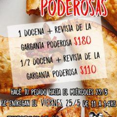 ¡Venta de empanadas Rosario!