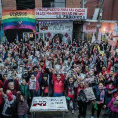 Grito de gol feminista y villero