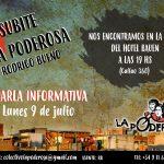 ¡Sumate a La Poderosa en la Rodrigo Bueno!
