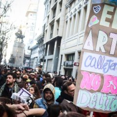 Se escucha el grito: ¡el arte no es delito!