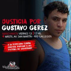 ¡A la calle por Gustavo!