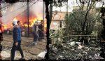 Murió una vecina calcinada en la Villa 31