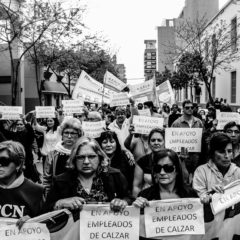 """""""Al pueblo obrero, ni alpargatas"""""""