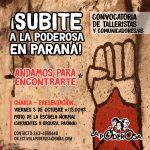 Poderosa convocatoria en Paraná