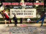 Torneo mixto de fútbol popular