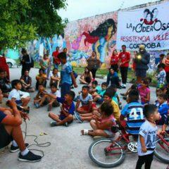 Alto Embrollo en el Yape, palpitando la Marcha de la Gorra