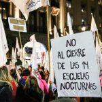 """""""Es nefasto que cierren escuelas"""""""