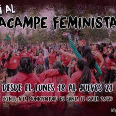 ¡Vení al Acampe Feminista en Santa Fe!