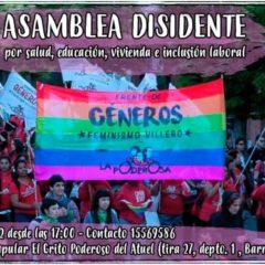 ¡Vení a la asamblea disidente en Santa Rosa!