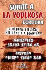 ¡Subite a La Poderosa Córdoba!