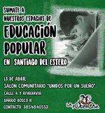 Educación popular santiagueña para transformar