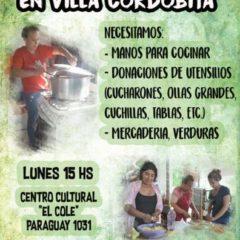 Olla popular en Villa Cordobita