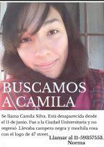 Mamá y papá te están buscando Camila