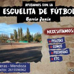 Ayudanos a armar nuestra Escuela de Fútbol Popular