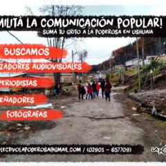 Militá la comunicación popular en Ushuaia