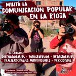 Buscamos comunicadores populares
