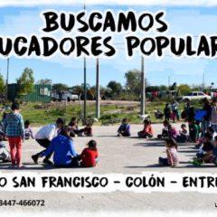 Sumate a bancar la Educación Popular en Colón