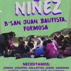 Colaborá con el Día de la Niñez en Formosa
