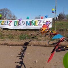 Día de la niñez colorido y autogestivo en Junín