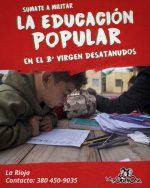 Militá la educación popular en La Rioja