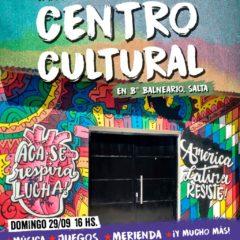 Inauguramos nuestro Centro Cultural salteño