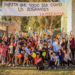 Festejamos el día de la niñez en barrio Alberdi